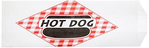 (Benchmark 68001 Paper Hotdog Bag, 8-3/4