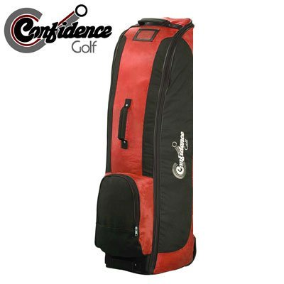 Confidence Golf Bag Travel Cover RED