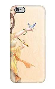 3962522K651012874 original anime girl kimono butterfly umbrella Anime Pop Culture Hard Plastic iPhone 6 Plus cases