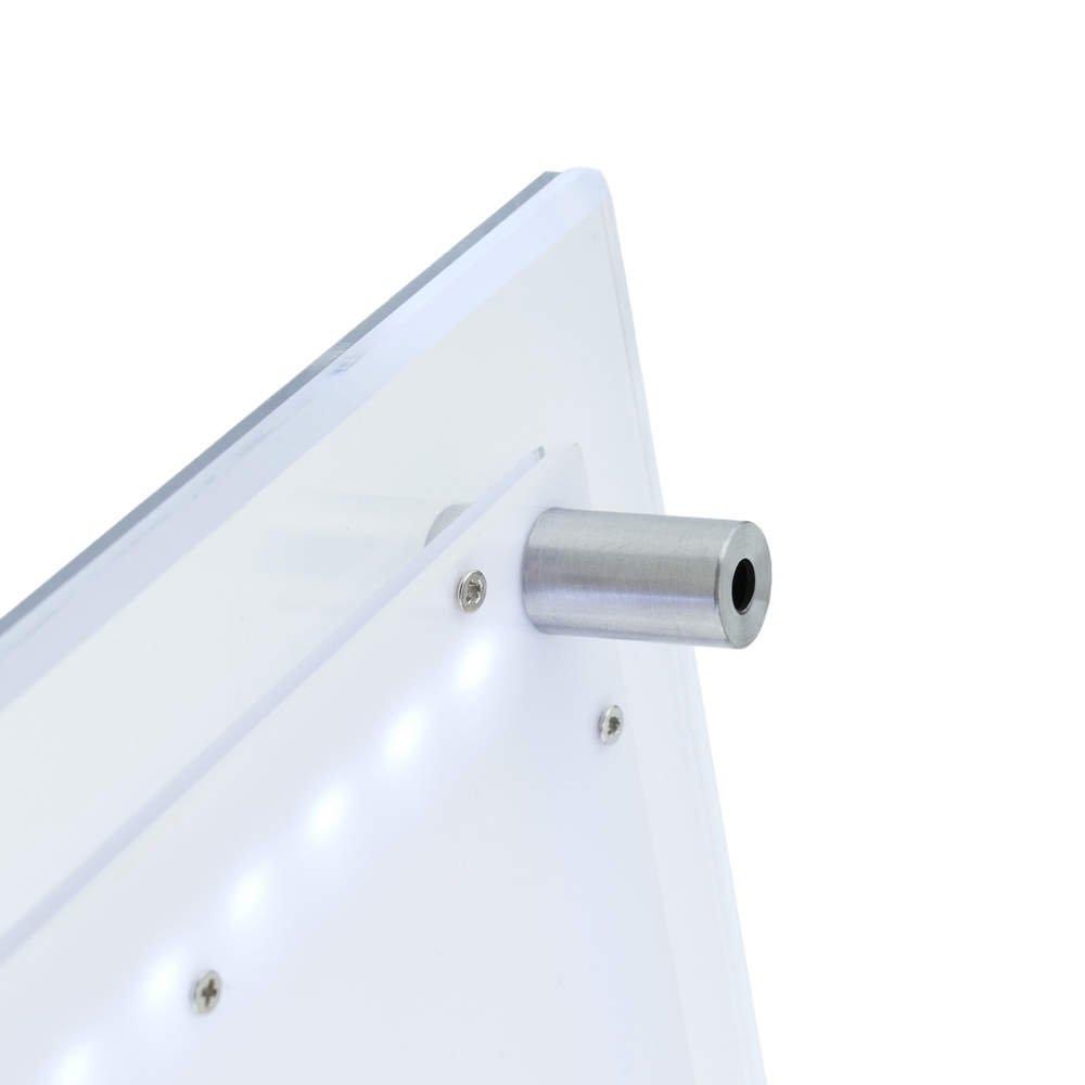 PrimeMatik - Marco cuadro iluminado por LED A4 285x372mm de ...