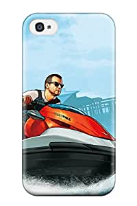Alanda Prochazka Yedda's Shop 7012314K42251872 Hot New Grand Theft Auto V Cash Carry Case Cover For Iphone 4/4s With Perfect Design