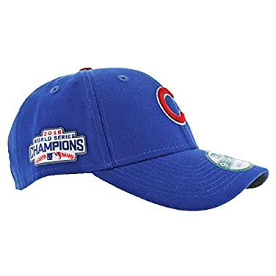 New Era Men's Chicago Cubs 9FORTY Adjustable 2016 World Series Baseball Hat by New Era