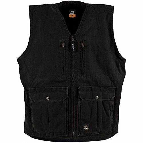 Berne Men's Concealed Carry Echo One Zero Vest, Black, X-Large/Regular (Berne Mens Concealed Carry Echo One One Jacket)