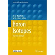 Boron Isotopes: The Fifth Element