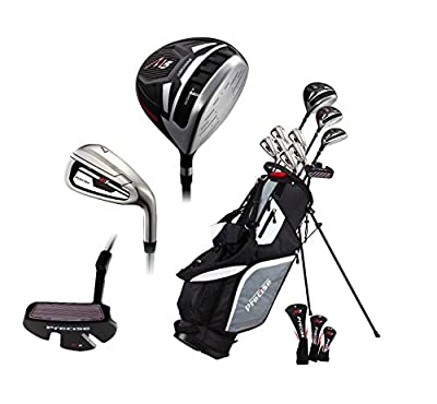 "Premium Complete Lightweight Men's Golf Club Set - Regular and Tall Size (6'1"" - 6'4""), Right Handed and Left Handed"