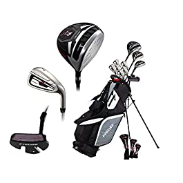 Premium Complete Lightweight Men's Golf Club Set – Regular and Tall Size (6'1″ – 6'4″), Right Handed and Left Handed