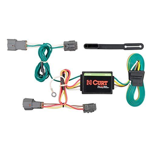CURT 56222 Vehicle-Side Custom 4-Pin Trailer Wiring Harness for Select Kia Rondo, Kia Soul ()