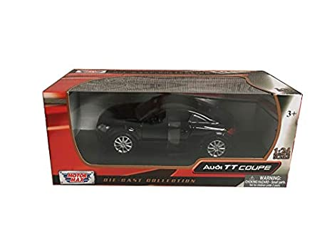 free delivery pick up best loved Amazon.com: Audi TT Coupe Black 1/24 Diecast Model Car by ...