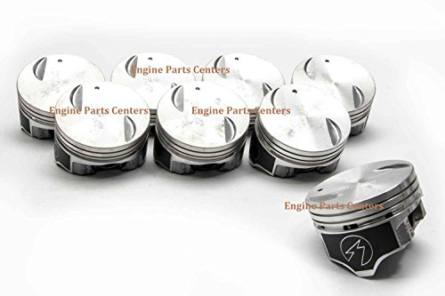 Chevy BB 454 7.4 7.4L Speed Pro Hypereutectic Coated Skirt Flat Top Piston Set/8 +.030