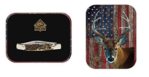 Puma-SGB-Stockman-Delrin-Stag-Folding-Pocket-Knife-with-Patriot-Deer-Gift-Tin