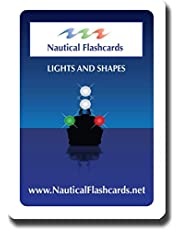 Nautical Flashcards Educational Night Lights and Day Shapes Flash Cards for Boating/Sailing