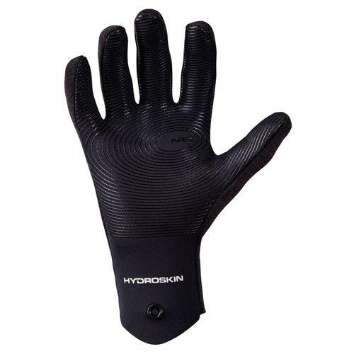 NRS Men's HydroSkin Gloves, Gray Heather, 2016
