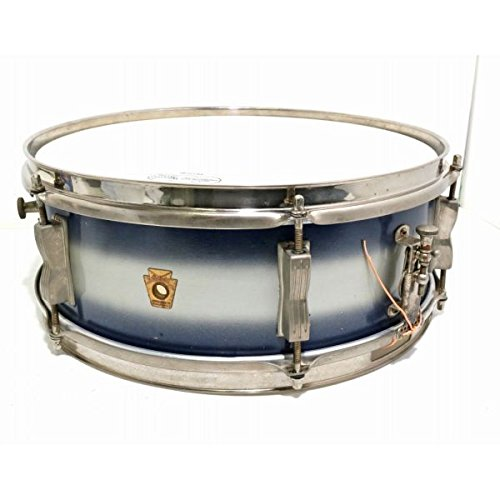 Ludwig/1960s No.491 PIONNER 14x5 Blue and Silver ラディック スネアドラム B07DGQ7WTT