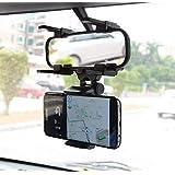 Suporte Celular E Gps Veicular Espelho Retrovisor De Carro