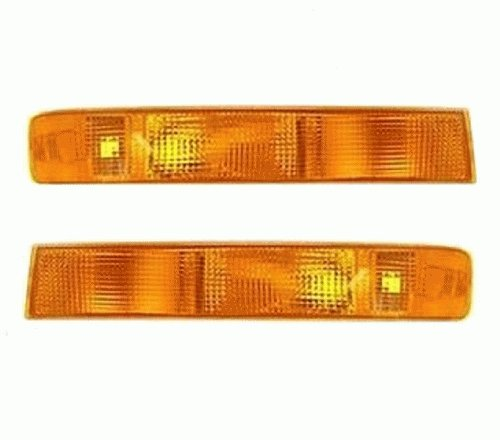Discount Starter and Alternator GM2521188 GM2520188 Replacement Turn Signal Pair Fits GMC Savana Plastic Lens Without -