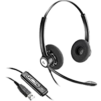 Plantronics Entera HW121N-USB Headset 202257-01
