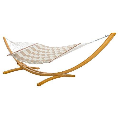 Hatteras Hammocks Sunbrella Pillowtop Hammock - Regency Sand (Hammock Hatteras Chair)