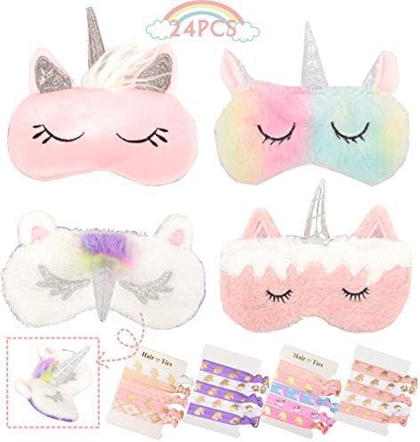 Unicorn Sleeping Blindfold Elastic Eyeshade product image