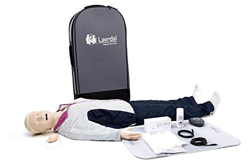 Laerdal 172-01250 Resusci Anne QCPR with Airway Head, Full Body Manikin ()