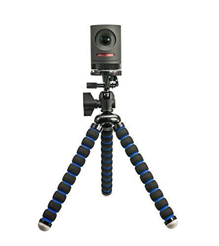 ARKON MEVTRIXL Flexible Camera Tripod Mount, Black/Blue (for Mevo Live Streaming Camera Retail Black)