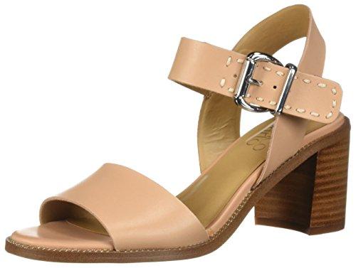 Franco Sarto Women's Havana Heeled Sandal, Peaches, 6 M US from Franco Sarto
