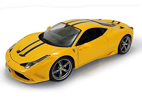 Ferrari 458 Speciale Yellow 1/18 by Bburago - Specials Ferrari