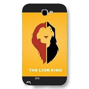 Customized Black Hard Plastic Disney Cartoon the Lion King HTC One M7