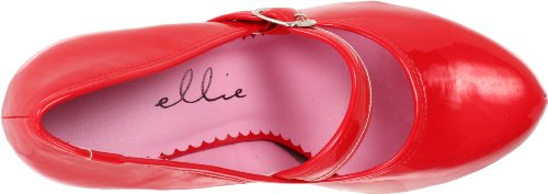 Ellie Shoes womens 469-ladyjane Red tid6kj26mh