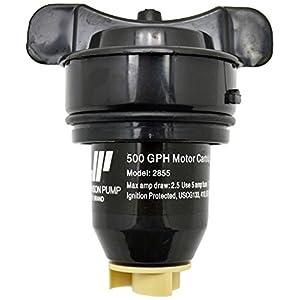 Johnson Pumps 28552-24 Replacement/Spare 500 GPH Motor Cartridge for Bilge Pumps, 24V