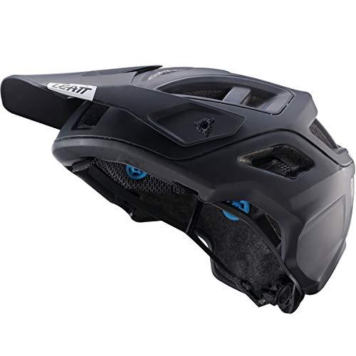 Leatt DBX 3.0 AllMtn Adult Off-Road Cycling Helmet - Black/Large