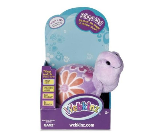 Webkinz Blossom Sea Turtle in Box with Trading Cards