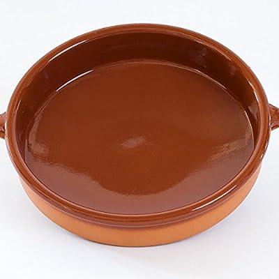 Cazuela de barro, cocinado rústicoDiámetro: 30 cmAlto: 8 cm, para ...