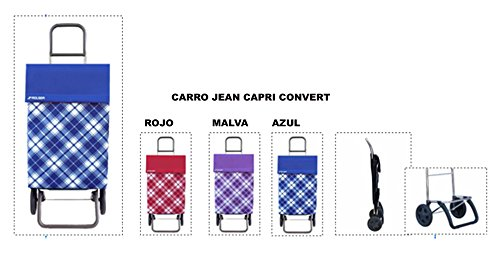 Carro Jean Capri Convert Rojo Rolser