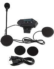 Helm Bluetooth headset-1 para helm luidspreker Bluetooth motorfiets helm BT headset hoofdtelefoon luidspreker ondersteuning handsfree hoofdtelefoon voor motor motorfiets