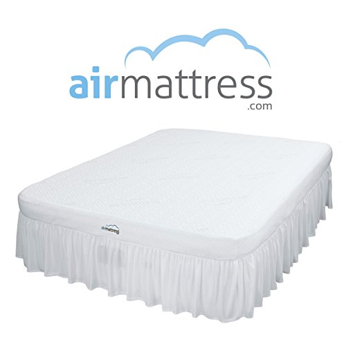 AirMattress.com *BEST CHOICE* Air Mattress with Hypoallergenic Bamboo Bed Sheet (Queen Inflatable Bed)
