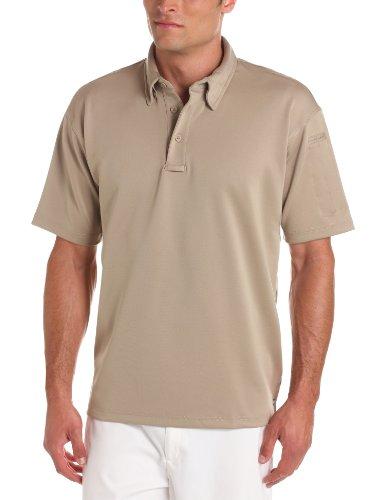 (Propper Men's I.C.E. Men's Short Sleeve Performance Polo Shirt, Silver Tan, X-Large Regular)