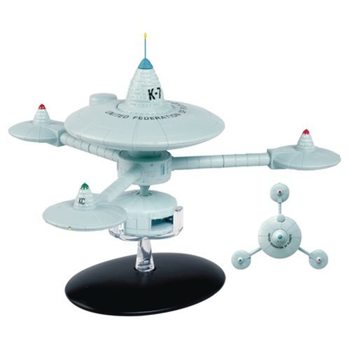 Eaglemoss Star Trek Starships Special #16 Deep Space Station K-7 with Collector Magazine