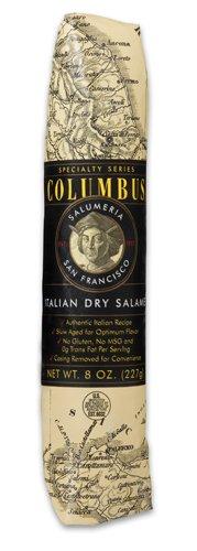 Fra Mani Salami (Columbus Salame Company Italian Dry Salame 8 Oz. Paper Wrapped Case of)