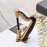 PUNK Mini Harp Model, 14CM Hand-made Wooden Harp