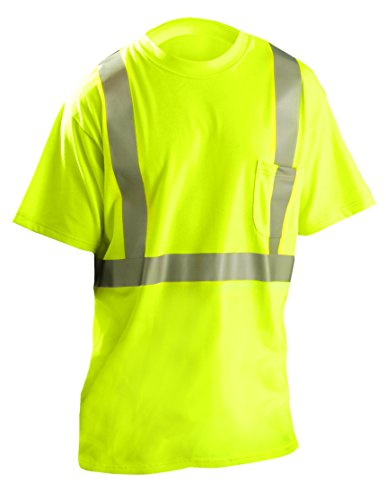 Occunomix Occlux Ansi Flame Resistant Tshirt W/Pkt L Yellow