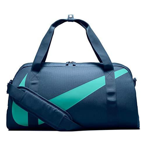 - NIKE Young Athletes Gym Club Kids Sports Duffel Bag, BA5567 (Blue Force/Light Aqua, One Size)