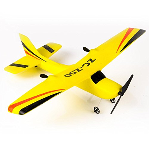 [RC Airplane] Z50 Gyro RTF Remote Control Glider 350mm Wingspan EPP Micro Indoor (Yellow)
