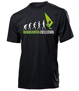 WINDSURFEN EVOLUTION 626(H-SW-Weiss-Grün) Gr. S
