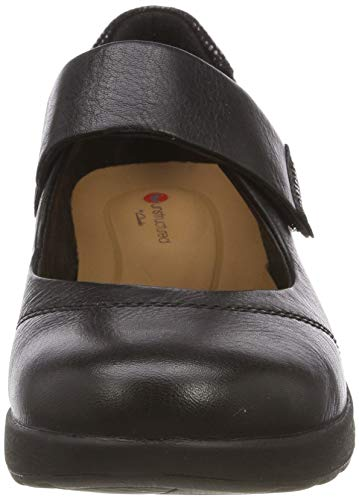 Mocassini Combi Donna Un Clarks Strap Adorn black Nero p47qx