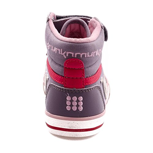 Drunknmunky Boston vintage mädchen, canvas, sneaker high, 31 EU