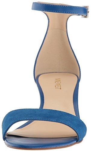 West West Blue Nine Nine West Leather Leather Blue Nine Blue fxqpgABA