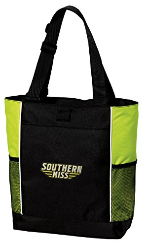 Southern Mississippi Pool - Broad Bay USM Golden Eagles Tote Bag COOL LIME Southern Miss Totes Beach Pool Or Gym