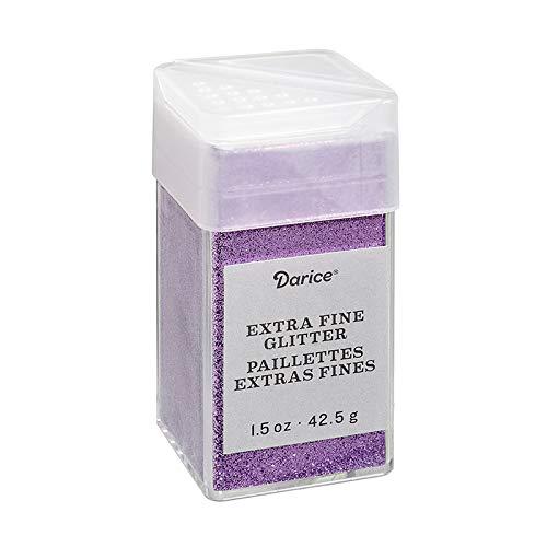 Fine Glitter Extra - Darice 30029632 Extra Fine, Orchid Purple, 1.5 Ounces Glitter