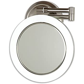 S Rxedskl Sl Ac Ss on 15x Lighted Makeup Mirror Wall Mount
