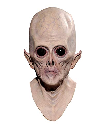 Nuoka Halloween Decorations Peenywise Props Costume Cosplay Big-Eyed Alien Mask (Picture Color)